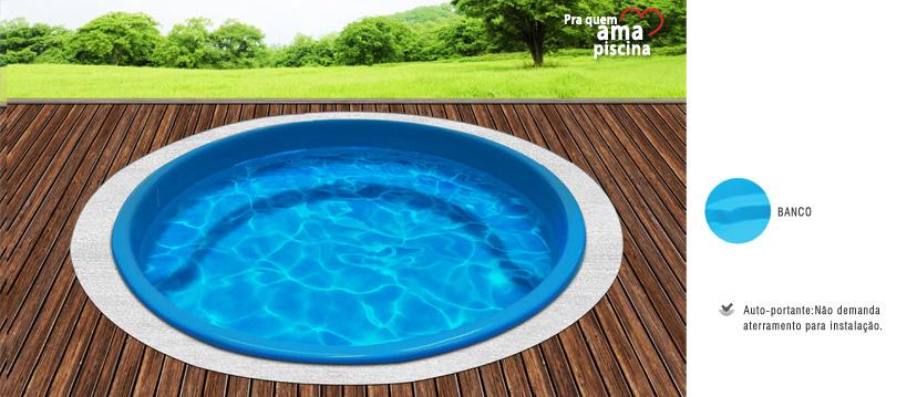 Piscinas de fibra for Calcular metros cubicos piscina redonda