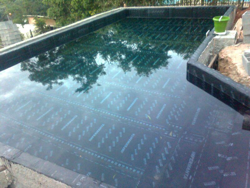 Piscina de alvenaria bh piscinas concreto azulejo pastilha - Impermeabilizantes para piscinas ...