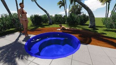 Piscinas de fibra bh mg piscina piscinas bh modelos - Piscina redonda fibra ...