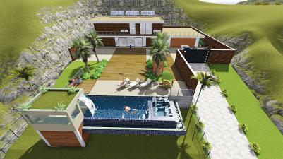 Projetos de piscinas for Projeto x piscina
