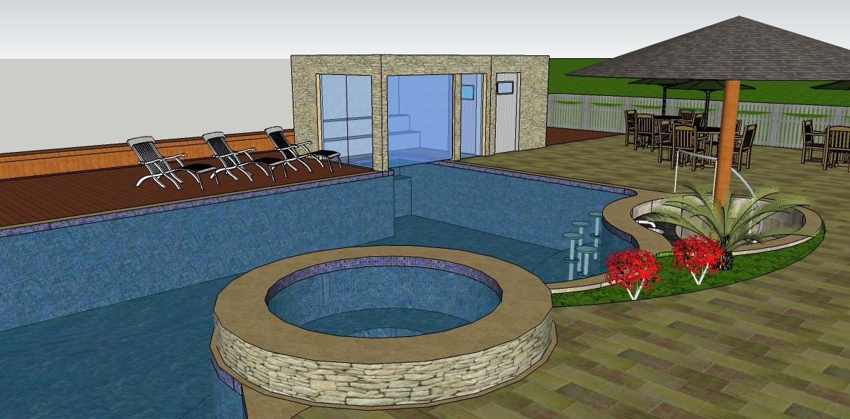 Curiosidades sobre spa banheira piscinas ofur projetos for Iluminacao na piscina e perigoso