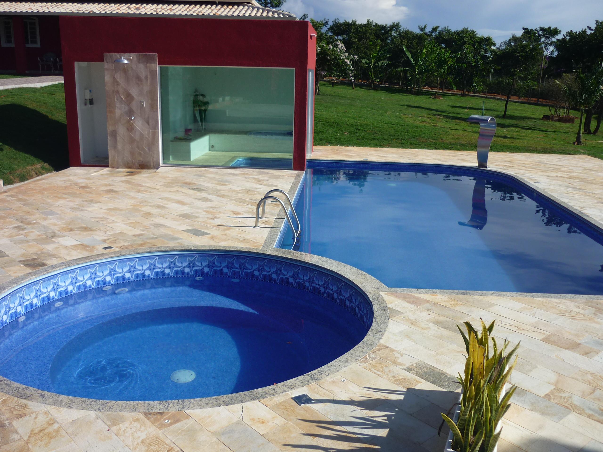 Projetos de piscinas for Fotos de modelos en piscinas