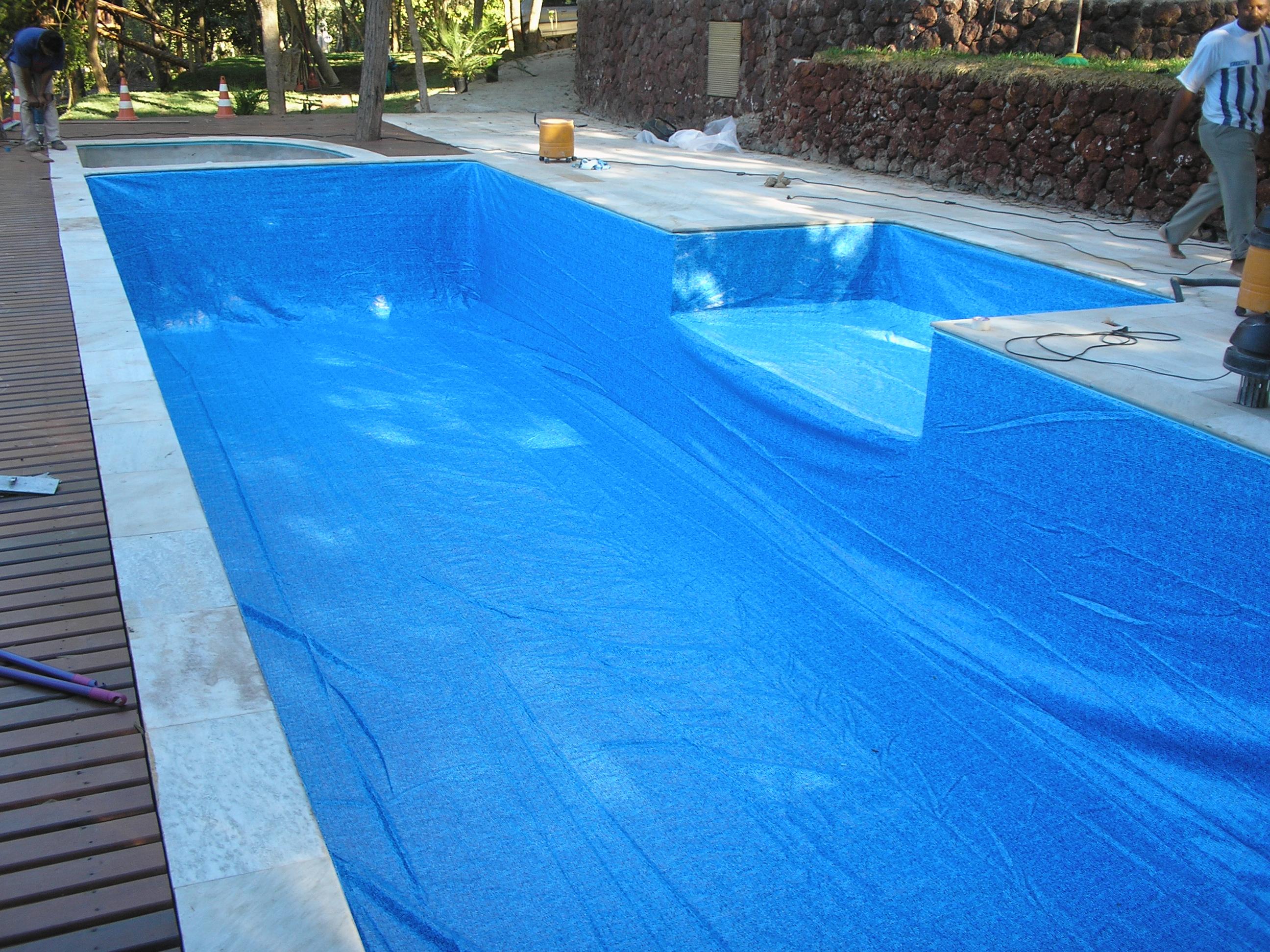 Troca do vinil de piscinas trocar vinil da piscina em bh for Piscinas de lona rectangulares